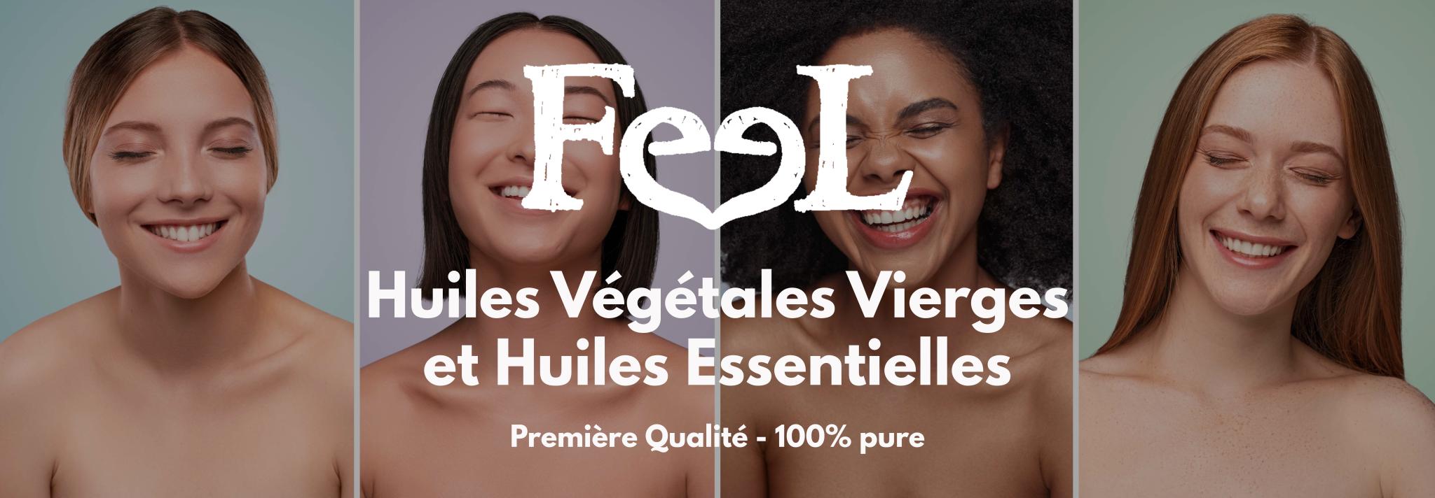 Feel Oil - Huiles vegetales vierge huiles essentielles Argiles Diffuseursd